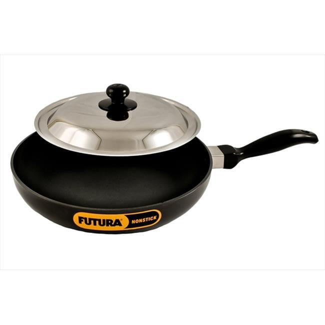 Hawkins Q24 Futura Non Stick 10 In Frying Pan Indian