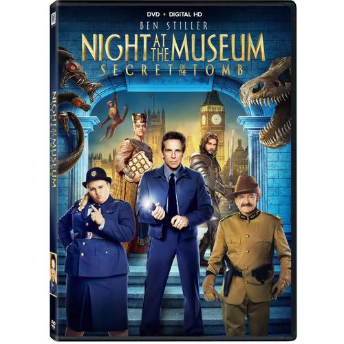 Night At The Museum: Secret Of The Tomb (DVD   Digital HD) (With INSTAWATCH)