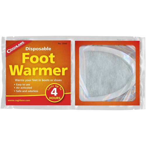 Coghlans Disposable Foot Warmers  0048