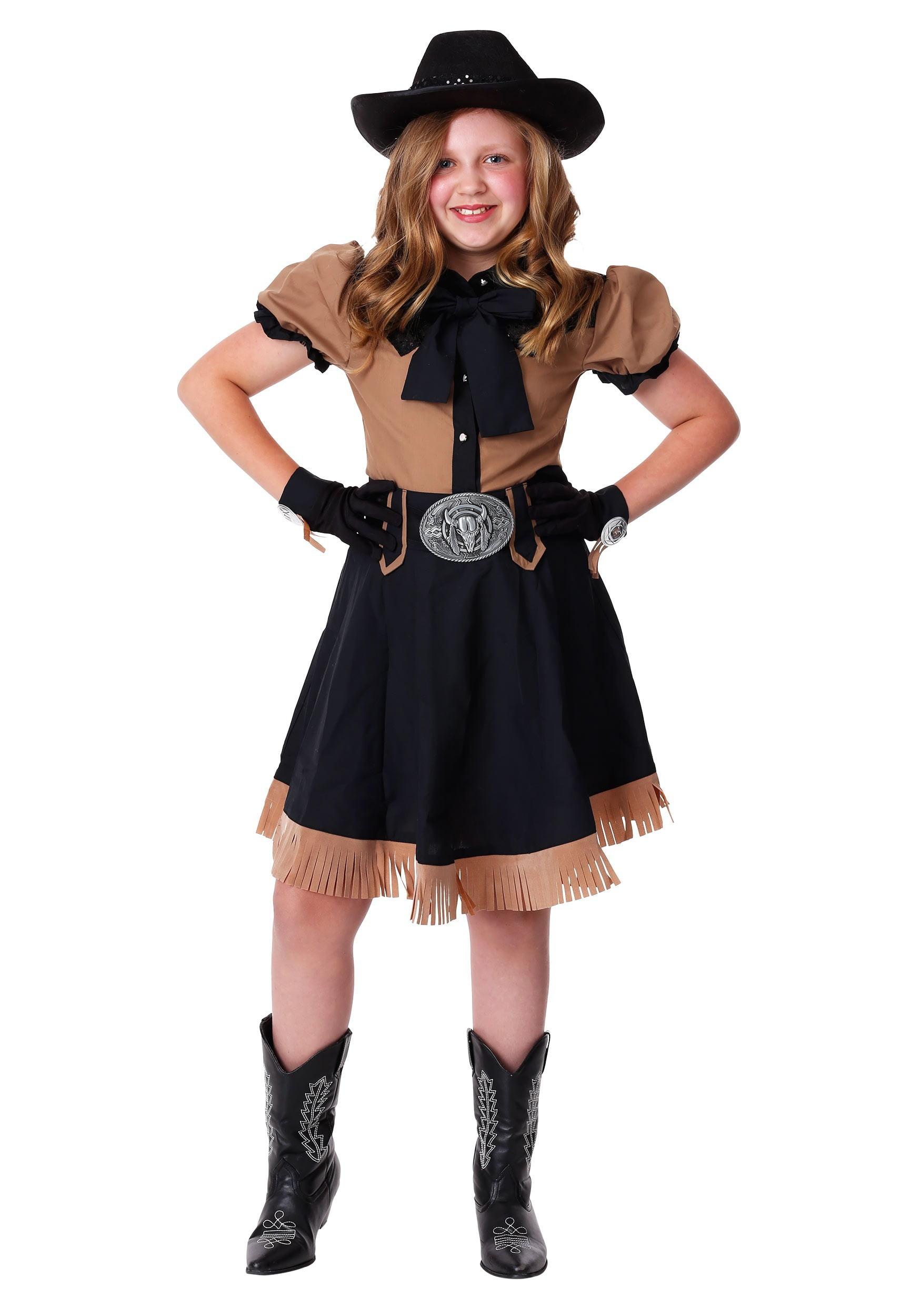 Girl/'s Lasso/'n Cowgirl Costume