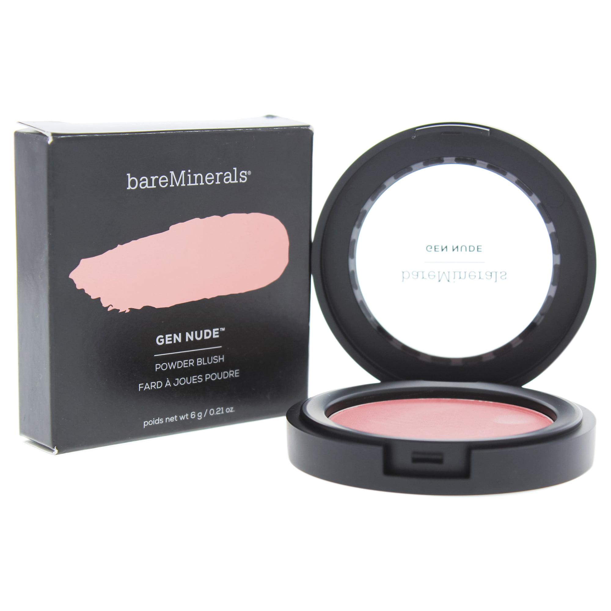 Gen Nude Powder Blush - Call My Blush by bareMinerals for Women - 0.21 Blush