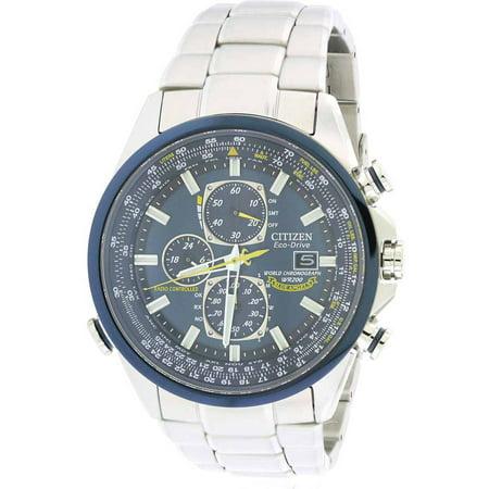 Citizen Eco-Drive Blue Angels Chronograph Atomic Men's Watch, AT8020-54L