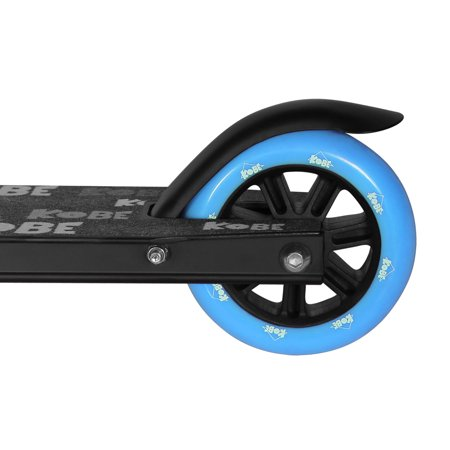 KOBE EDGE Kick Pro Scooter 2 Wheel - Reinforced Steel - Curved T-bar - Teens, Kids 5-yo and above - Blue - image 8 de 11