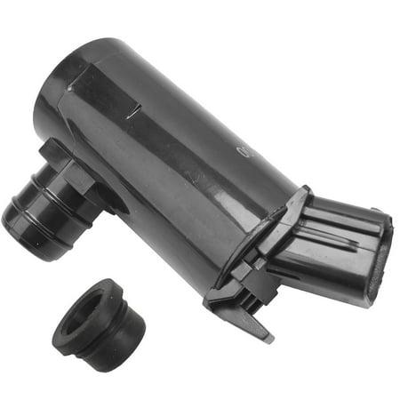 Elantra Accent (AUTOPA 98510-1C000 Windshield Washer Pump with Gasket for Hyundai Kia Accent Azera Elantra Genesis Santa Optima)