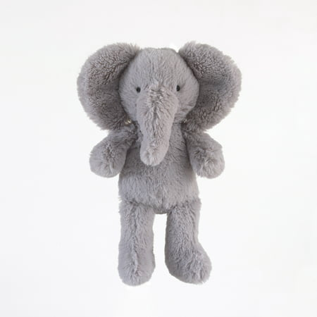 Carter S Child Of Mine Plush Animal Grey Elephant Walmart Com