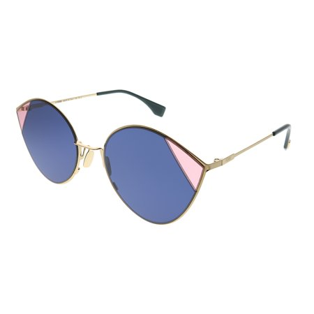 Fendi Cut-Eye FF 0341 LKS KU Women Cat-Eye Sunglasses