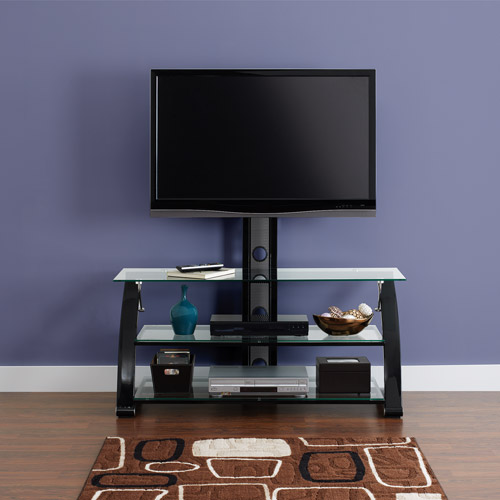 Z-line Spar Flat Panel 3-in-1 TV Stand, for TVs up to 55""