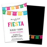 Personalized Fiesta Invitations