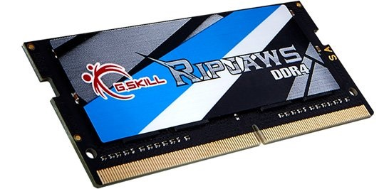 16GB G.Skill 2400MHz DDR4 SO-DIMM Laptop Memory Module (CL16) 1.20V PC4-19200 Ripjaws DDR4 Series