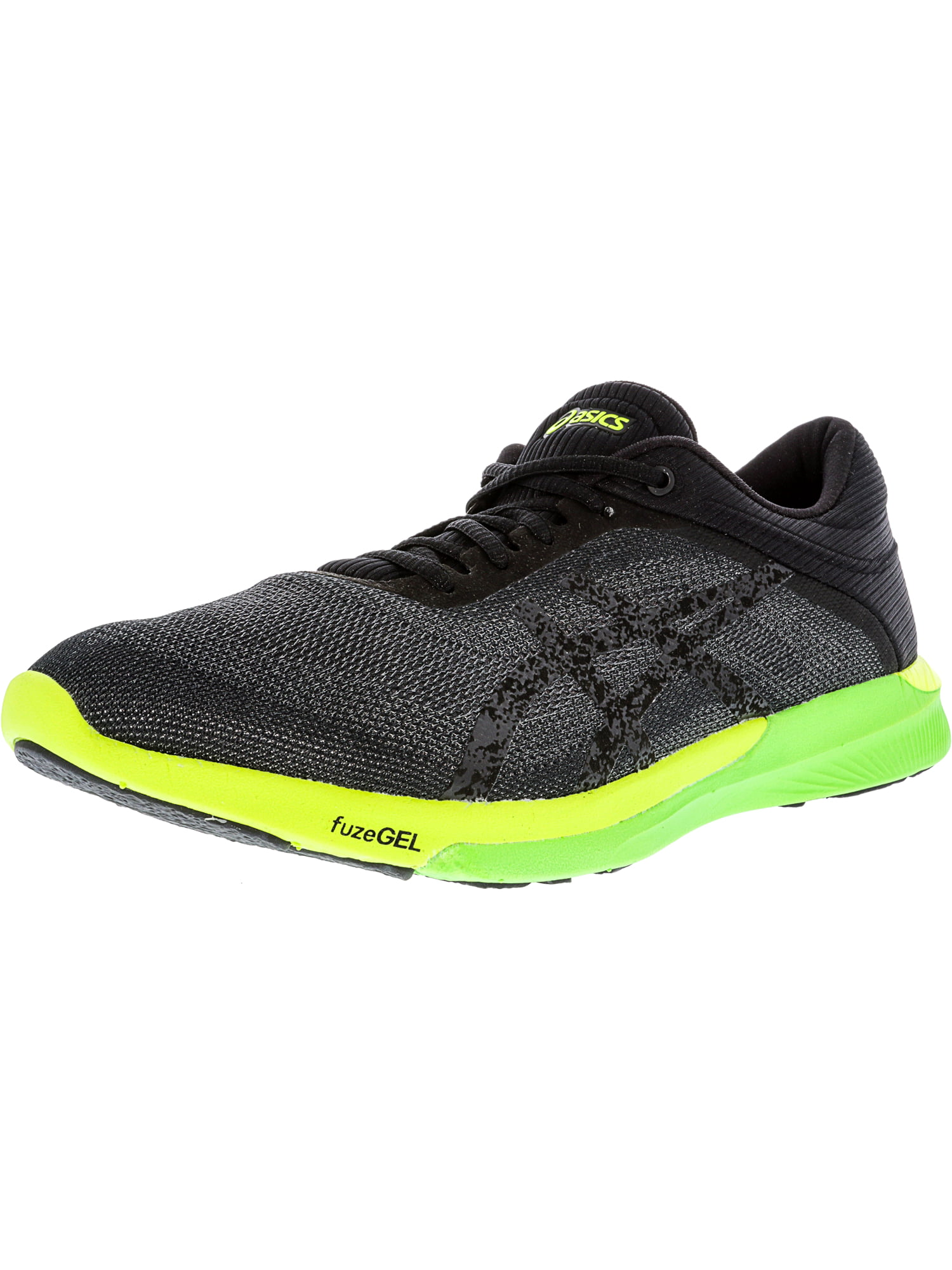 ASICS FUZEX RUSH CARBON //BLACK//SAFETY YELLOW