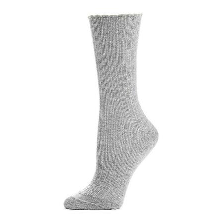 Hue Womens Socks Jeans (Scalloped Pointelle Socks)