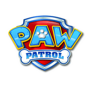 Paw Patrol Logo 1 4 Sheet Edible Birthday Cake Topper Frosting