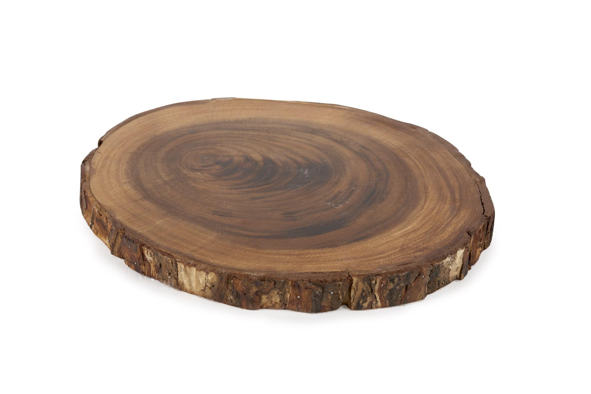 Better Homes and Gardens Acacia Wood Bark Charger - Walmart.com
