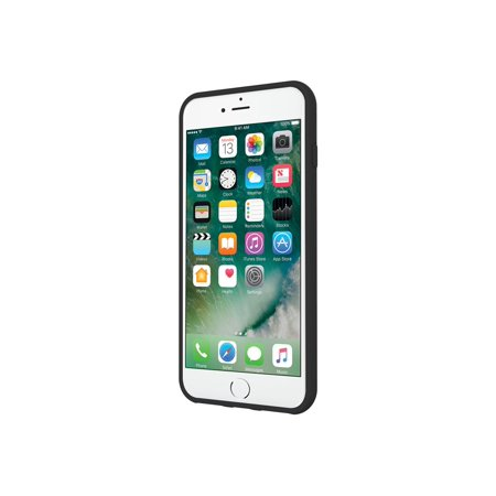 Incipio NGP PURE - Back cover for cell phone - Flex2O polymer - black - for Apple iPhone 7