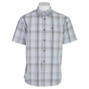 Planet Earth Hamilton S/S Shirt Pale Blue