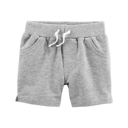 Boys French Terry Pull (Carter's Baby Boys' Pull On French Terry Shorts- Heather)