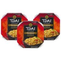 (3 Pack) Thai Kitchen Gluten Free Thai Peanut Rice Noodle Cart, 9.77 oz