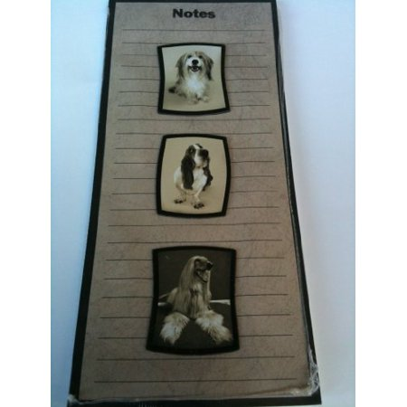 Dog Magnets and Notepad 9