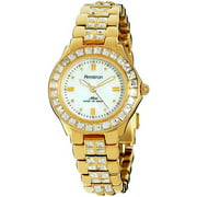 Women's Swarovski Crystal Accented Mother-of-Pearl Dial Dress Watch