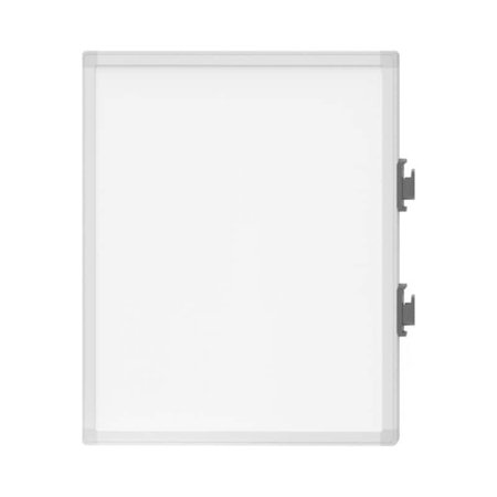 """Luxor Steel Frame Computer - Luxor Magnetic Detachable Lap Board 4-Pack, 19"""" x 23"""", Silver Steel Frame"""