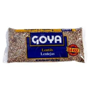 - Goya Goya  Lentils, 14 oz