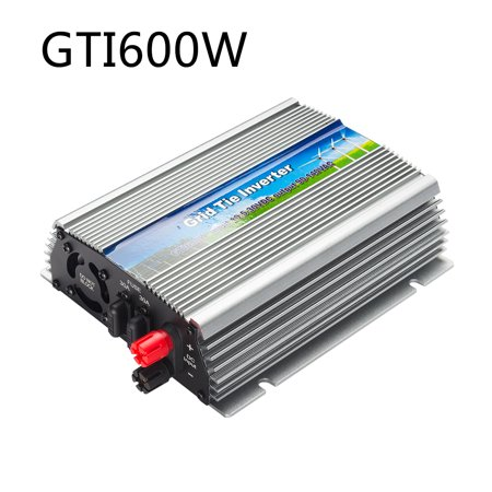 US GTI 600W Grid Tie Inverter MPPT For Solar Panel Stackable Pure Sine Wave