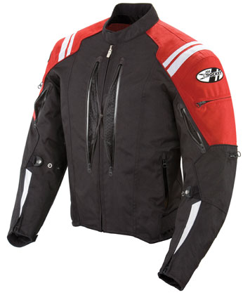Joe Rocket Atomic 4 0 Jacket Black Red Xl Joerocket1051