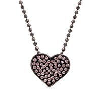 Crystaluxe Heart Pendant with Swarovski Crystals
