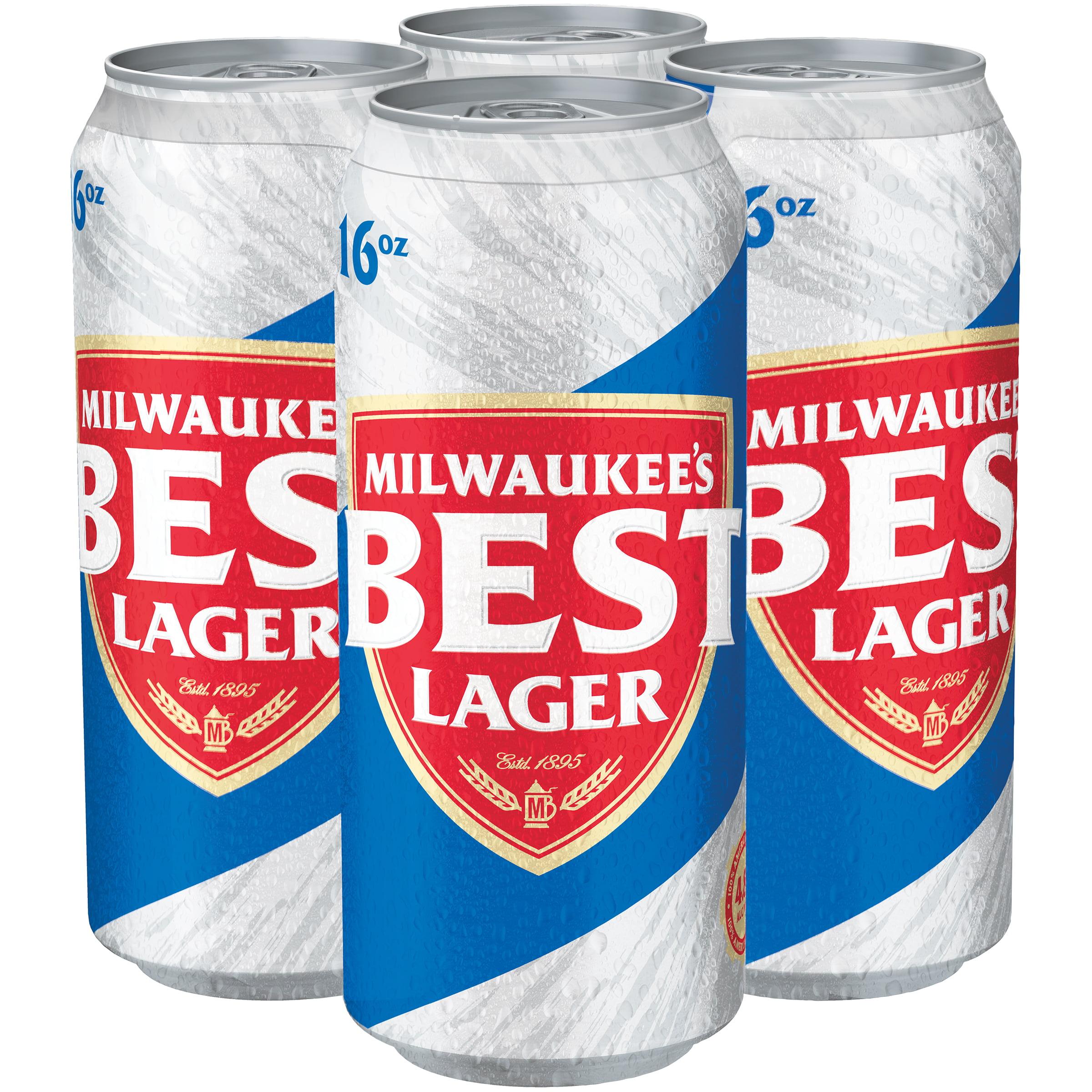 Milwaukee's Best Beer 4-16 fl. oz. Cans