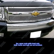 Fits 2007-2013 Chevy Silverado 1500 Billet Grille Grill Insert