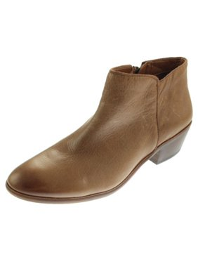 a8ca2fdd1 Product Image Sam Edelman Womens Petty Leather Round Toe Ankle Boots