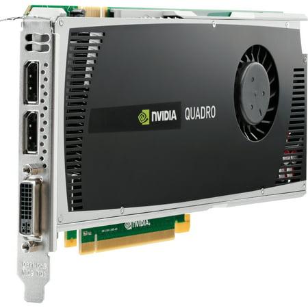 2GB HP nVIDIA Quadro 4000 PCI Express 2.0 x16 GDDR5 DVI-I 2 X DisplayPort WS095AT Graphics