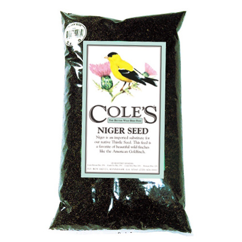 COLES WILD BIRD PRODUCTS INC NI20 20LB Niger Bird Food