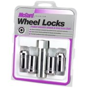 McGard 25115 Chrome Tuner Style Cone Seat Wheel Lock Set