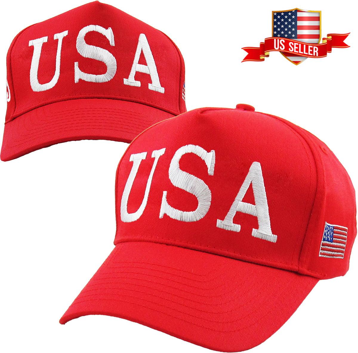 Snapback Cap Blue Embroidery Move America Forward Again