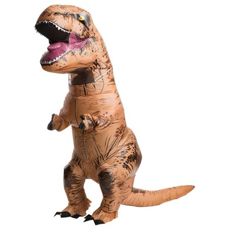T Rex Costume For Adults (Morris Costumes RU810481 T Rex Inflatable Adult)