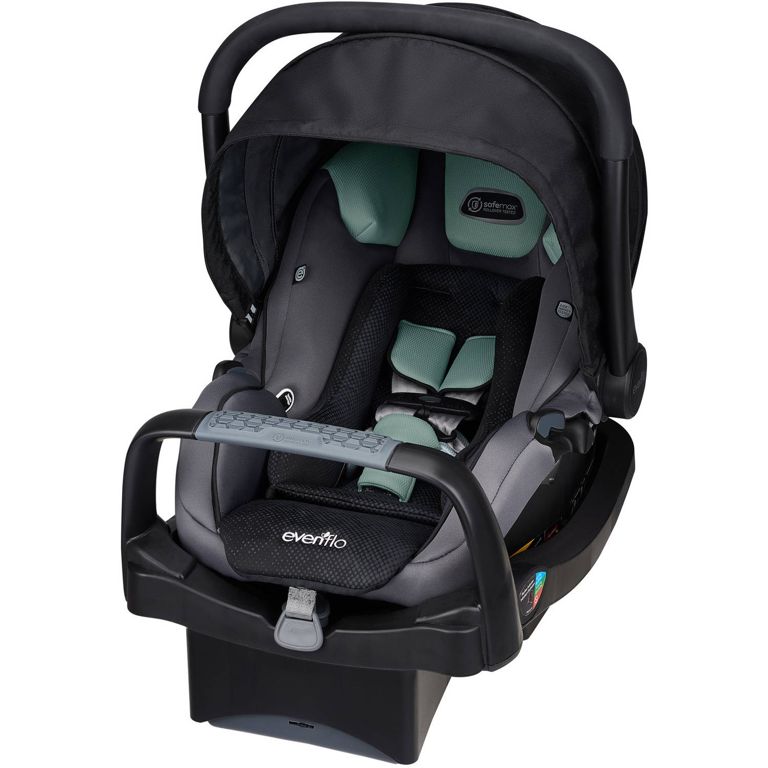 Evenflo Platinum SafeMax Infant Car Seat, Choose Your Pattern