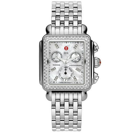 Scattered Diamond Watch - Michele Swiss Wheeze Diamond Watch MWW06P000099