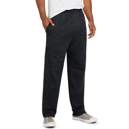 Hanes Mens Comfort Soft Eco Smart Fleece Sweatpants, S, Grey Heather - image 1 de 1