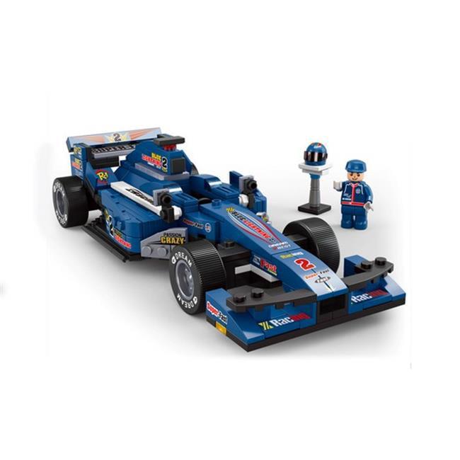 1-24 F1 Bull Racing Car Building Blocks Construction Set, 277 Piece - image 1 de 1