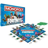 Fortnite Monopoly Set Board Game