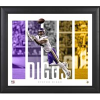 """Stefon Diggs Minnesota Vikings Framed 15"""" x 17"""" Player Panel Collage"""