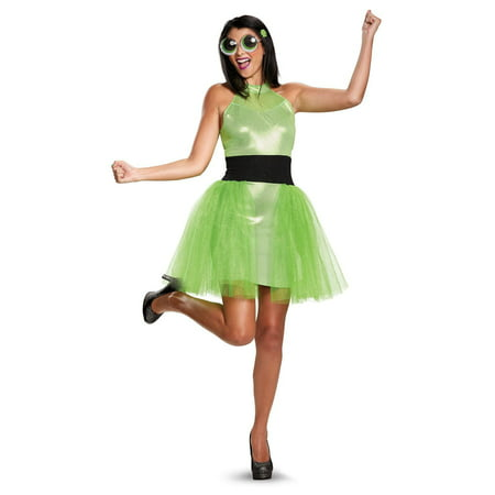 Powerpuff Girls Buttercup Deluxe Teen Costume (Powerpuff Girl Costumes Diy)
