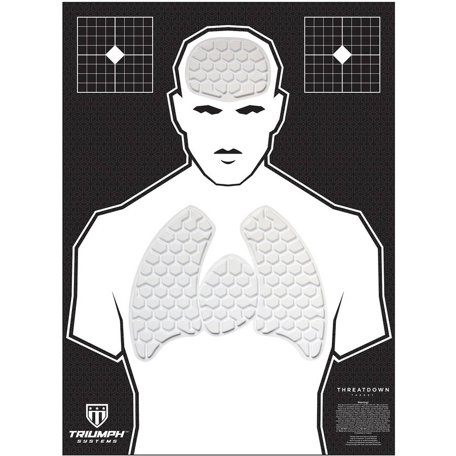 Triumph Systems Threat Down Humanoid Responsive Target