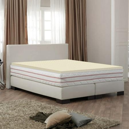 Wayton Mattress Topper- 1 Inch High Density Foam To Supplement The Comfort Of Your Mattress