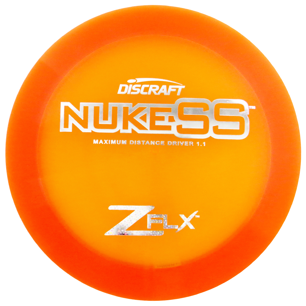 Discraft Elite Z FLX Nuke SS 167-169g Distance Driver Golf Disc [Colors may vary] - 167-169g
