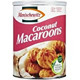 Manischewitz Coconut Macaroons Gluten Free Kosher For Passover 10 oz.Pck of 3.