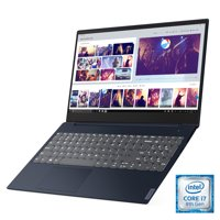 "Lenovo ideapad S340 15.6"" Laptop, Intel Core i7-8565U Quad-Core Processor, 8GB Memory, 256GB Solid State Drive, Windows 10 - Abyss Blue - 81N800T7US"