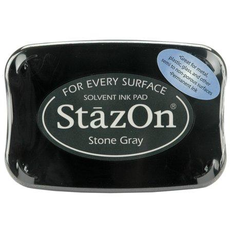 - Staz-On Inkpad, Stone Gray
