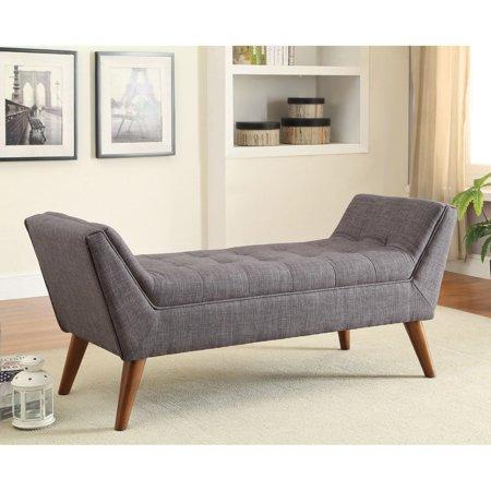 Coaster 500008 Home Furnishings Bench, Grey ()